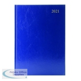 Desk Diary Day Per Page A4 Blue 2021 KFA41BU21