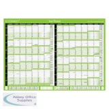 Q-Connect 16 Month Planner Unmounted A1 2020-2021 KFBPU120