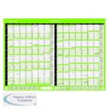 Q-Connect 16 Month Planner A2 Unmounted 2021-22 KFBPU121