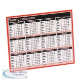 Year To View Calendar 257 x 210mm 2021 KFYC121