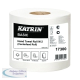 Katrin White Centrefeed 2 Ply Hand Towel White (6 Pack) 17300