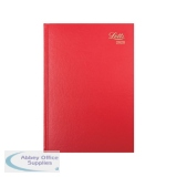 Letts Business Diary A5 Week to View 2020 Red 20-T31XRD