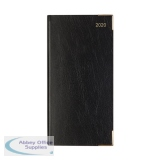 Letts Business Diary Slim Week to View Appointment Portrait 2020 Black 20-T35SUBK