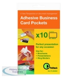Pelltech Business Card Holder Side Opening 60x95mm (10 Pack) PLH 25510