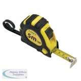 Linex Tape Measure 5m Black/Yellow EMT5001