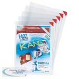 Tarifold Red Kang Self-Adhesive Pockets A4 (5 Pack) 194770