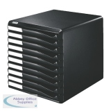 Leitz Black/Black 10 Drawer Form Set 5294-0095