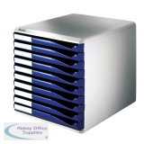 Leitz Blue 10 Drawer Form Set 5281-0035