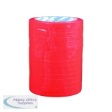 Polypropylene Tape 9mmx66m Red (16 Pack) 70521252