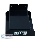 Arnos Hang-A-Plan Wall Rack For 5 Binders D064