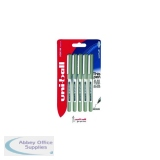 Uni-Ball UB-157 Eye Rollerball Pen Medium Black (5 Pack) 153544320