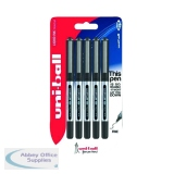Uni-Ball UB-150 Eye Rollerball Pen Fine Black (5 Pack) 153544322