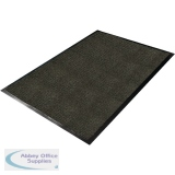 Millennium Mat Golden Hobnail Floor Mat Charcoal 610 x 910mm 64020330HOB