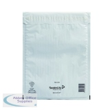 Mail Lite Tuff Bubble Lined Postal Bag Size G/4 240x330mm White (50 Pack) 103015253