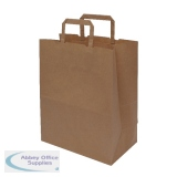 MyCafe Kraft SOS Carriers Internal Handles 250x140x305mm Brown (250 Pack) 304706