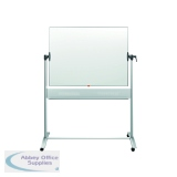 Nobo Mobile Steel Magnetic Horizontal Whiteboard 900x1200mm 1901029