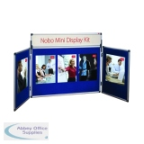 Nobo Blue Mini Desktop Display Kit 35231470