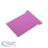 Nobo Size 2 Pink T-Card (100 Pack) 32938905