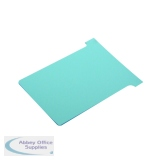 Nobo Size 3 Light Blue T-Card (100 Pack) 32938919