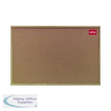 Nobo Classic Cork noticeboard, 1800 x 1200mm