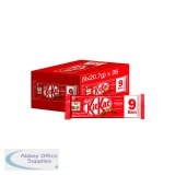 Nestle Milk Chocolate 2 Finger Kitkats (9 Pack) 12339411
