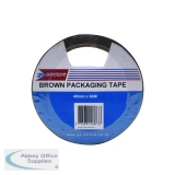 GoSecure Packaging Tape 50mmx66m Brown (6 Pack) PB02296