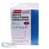 Go Secure Extra Strong Polythene Envelopes 165x240mm (50 Pack) PB08232