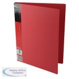 Pentel Recycology Wing A4 20 Pocket Red Display Book (10 Pack) DCF442B