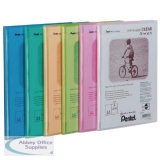 Pentel Recycology Clear A4 20 Pocket Assorted Display Book (5 Pack) DCF242/MIX