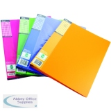 Pentel Recycology Fresh Display Book A4 20 Pocket Assorted (4 Pack) DCF542/MIX