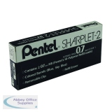 Pentel Sharplet-2 Automatic Pencil 0.7mm Blue Barrel (12 Pack) A127-C