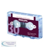 Philips Dictation Cassette 30 Minutes (10 Pack) LFH0005/30