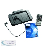 Philips Silver Digital Dictation Starter Kit DPM6700