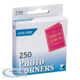 Photo Album Company Photo Corners White (250 Pack) PC250