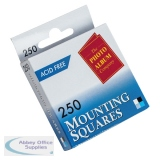 Photo Album Company Photo Mounting Squares White (250 Pack) MS250