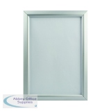 TPAC Photo Promote It Frame A4 Aluminium PAPFA4B