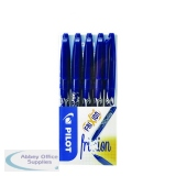 Pilot FriXion Ball Erasable Rollerball Pen Fine Blue (5 Pack) 224300503