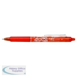 Pilot Frixion Orange Clicker Rollerball 4902505497803