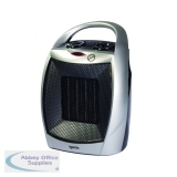 1.8kW PTC Ceramic Fan Heater Silver IG9030