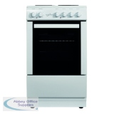 Statesman Single Cavity Electric Cooker White 50cm Delta 50E