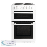 Statesman Twin Cavity Electric Cooker White 50cm Fusion 50ETW
