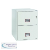 Phoenix 2 Drawer 90 Minute Fire Rated Filing Cabinet FS2252K