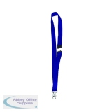 Announce Textile Necklace Blue (10 Pack) PV00672
