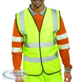 Hi-Viz Vest S/Yellow EN ISO 20471 Medium WCENGM