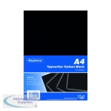 Stephens Black Typewriter Carbon A4 Paper (100 Pack) RS520153