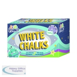 Study Time Chalk White (100 Pack) EDU211