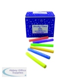 Study Time Chalk Assorted Colours (100 pack) EDU212