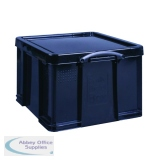 Really Useful 42L Recycled Plastic Storage Box Black 42Black R