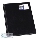 Rexel Nyrex Slimview Display Book 12 Pocket A4 Black 10005BK