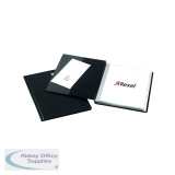 Rexel Nyrex Slimview Display Book A4 Black 24 Pocket 10015BK